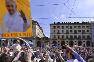 Papa Francesco a Torino